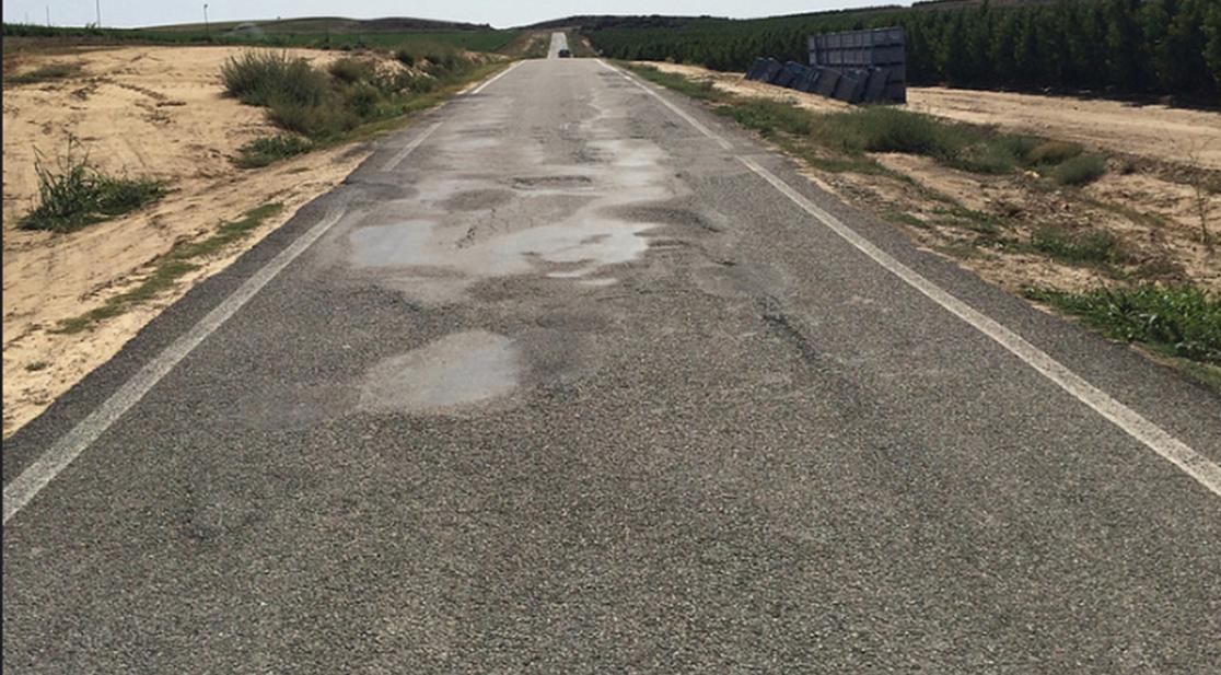 Suspenso para la conservación de carreteras en España.
