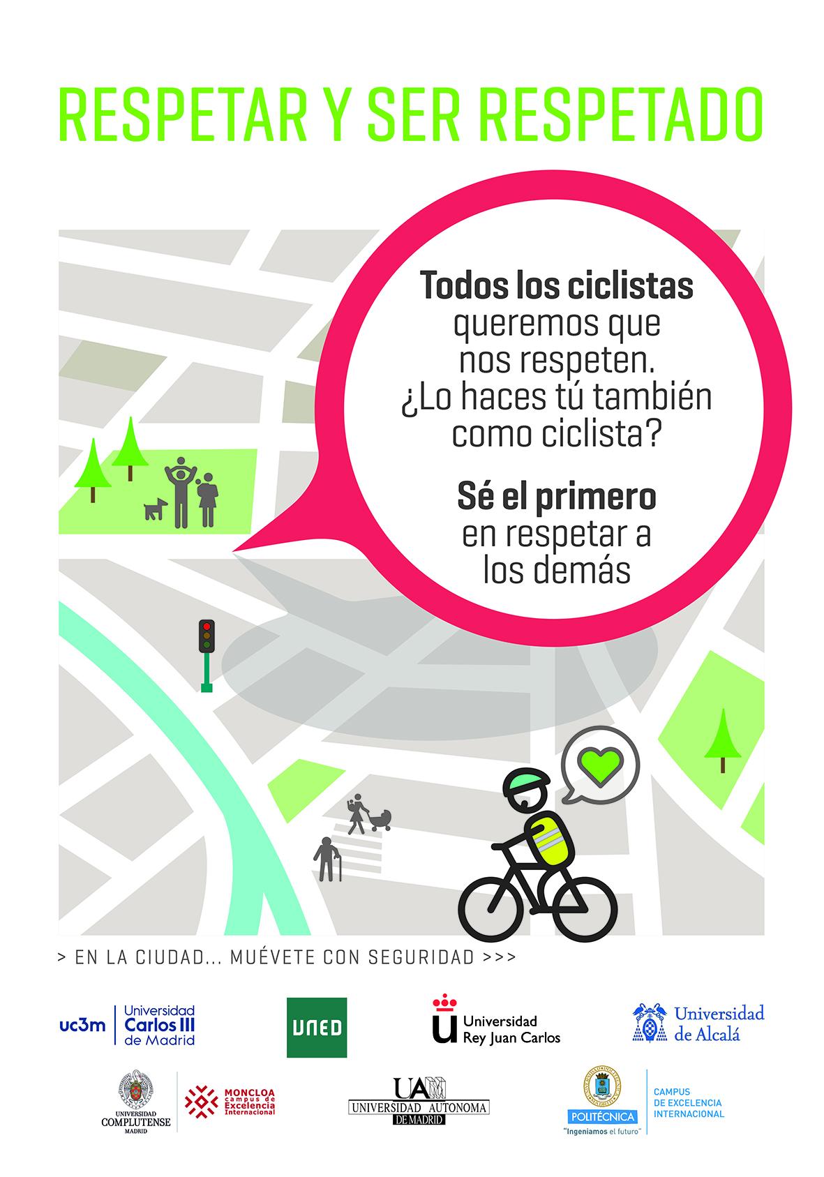 TYT con las Universidades madrileñas en la Semana Europea de la Movilidad.